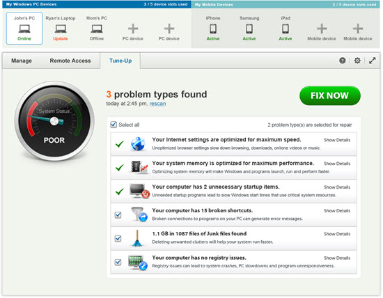Fix-It Utilities Professional Screenshot