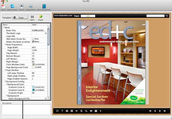 Flip PDF for Mac Screenshot