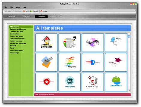 MyLogoMaker Professional Screenshot