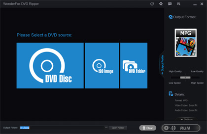 WonderFox DVD Ripper Pro Screenshot