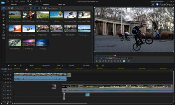 CyberLink PowerDirector 14 Ultra Screenshot