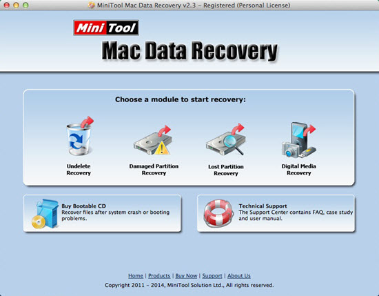 MiniTool Mac Data Recovery – 数据恢复软件[OS X]丨反斗限免