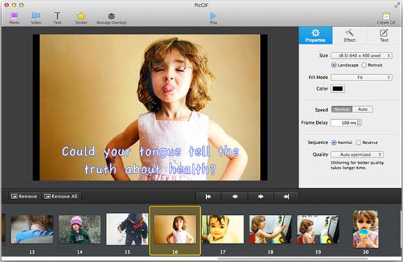 PicGIF – GIF 动画图片制作软件[OS X]丨反斗限免