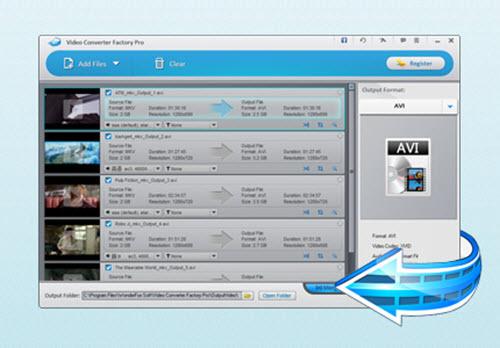 Wonderfox Video Converter Factory Pro Screenshot