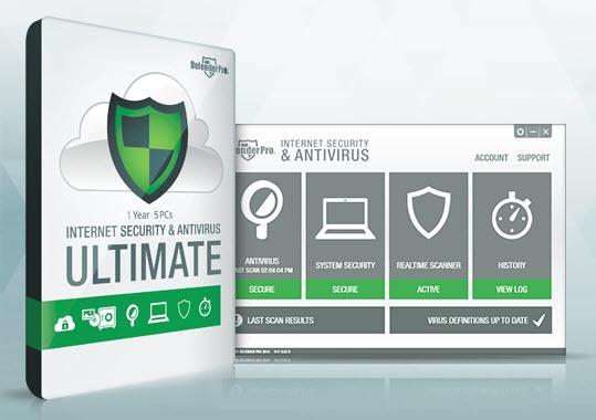 Defender Pro 2014 Internet Security Antivirus Ultimate Screenshot