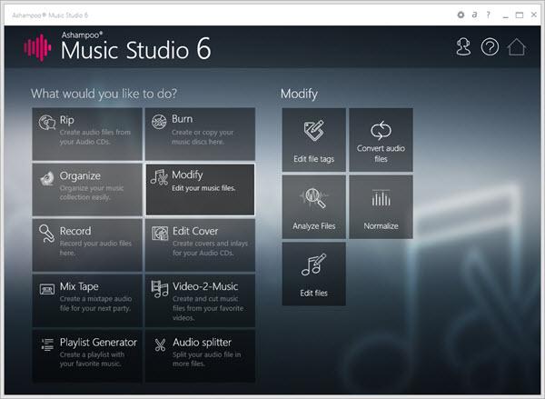 Ashampoo Music Studio 6 Screenshot