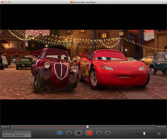 Aurora Blu-ray Player for Mac Screenshot
