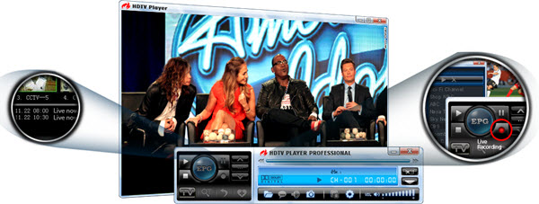 BlazeVideo HDTV Player Screenshot