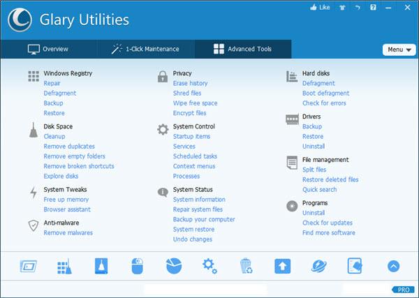 Glary Utilities Pro 5 Screenshot