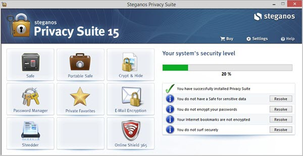 1x1.trans Steganos Privacy Suite 15 (100% OFF)