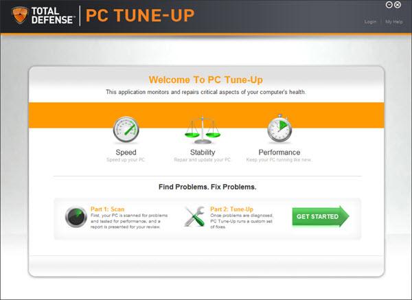Total Defense PC Tune-Up Screenshot