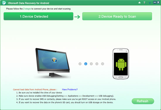 iStonsoft Data Recovery for Android Screenshot