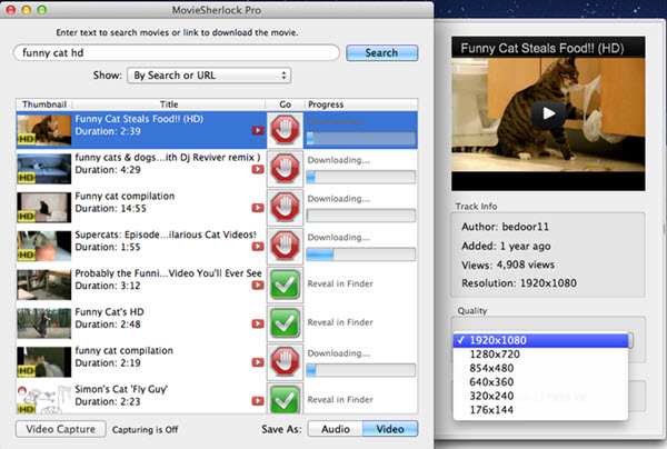 MovieSherlock Pro Screenshot