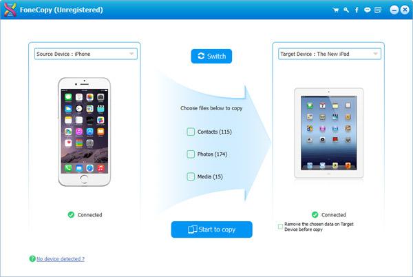 Aiseesoft FoneCopy Screenshot