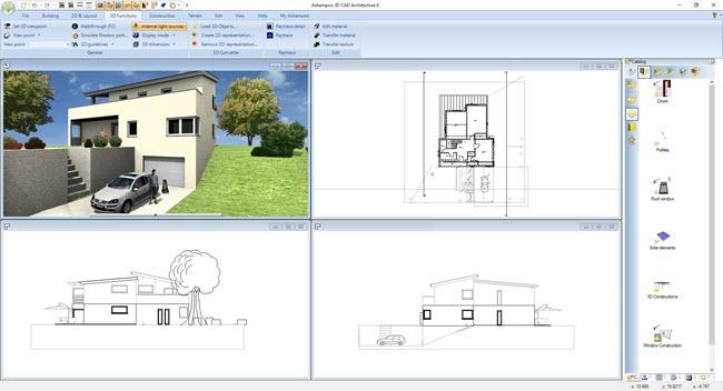 Ashampoo 3D CAD Architecture 6 Screenshot