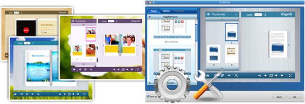iOrgsoft PDF to Flash Converter for Mac Screenshot
