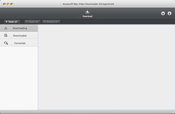 Aiseesoft Mac Video Downloader Screenshot
