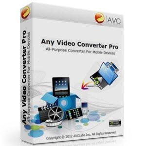 anvsoft any dvd converter professional