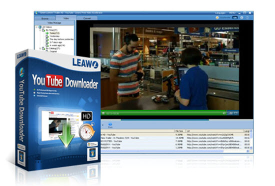 Leawo YouTube Downloader Pro Screenshot