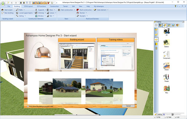 Ashampoo Home Designer Pro 3 Screenshot