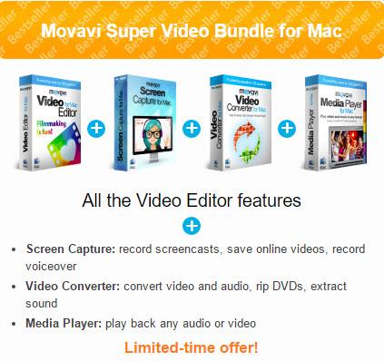 Movavi Super Video Bundle for Mac Screenshot