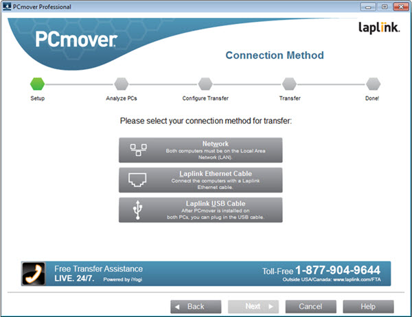 Laplink PCmover Professional Screenshot