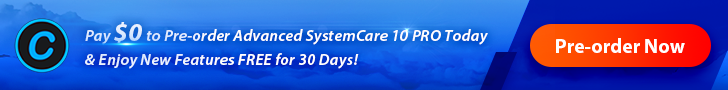 IObit Advanced SystemCare 10 PRO Preorder